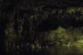 Stalagmiten und Stalaktiten in den Grotten