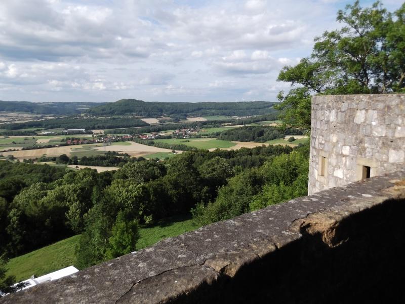 Aussicht von der Giechburg